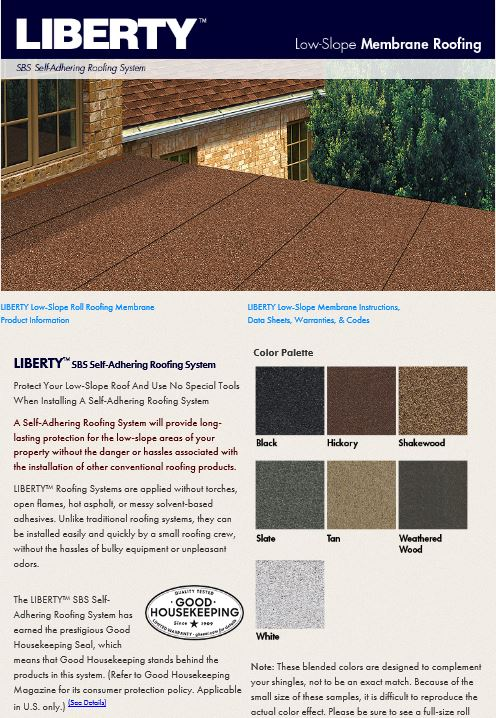 Sbs Roofing Colors Amp Existing Sbs Membrane Has Been Primed